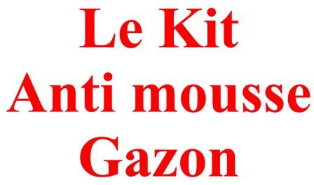 Kit Anti Mousse Gazon