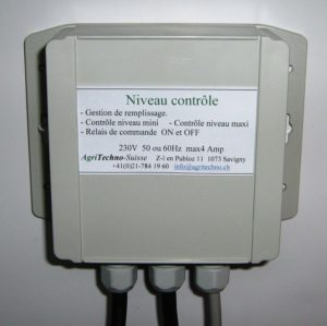 Niveau contrôle AGT