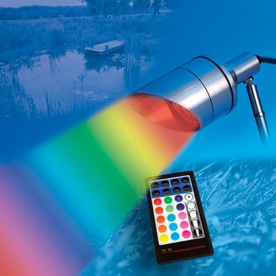 Spot LED couleur variable (RGB)